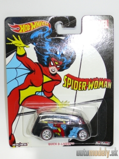 Hot Wheels DWH26 - Marvel Spider Woman Quick D-Livery
