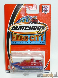 Matchbox Hero City #43 97738 - Rescue Boat