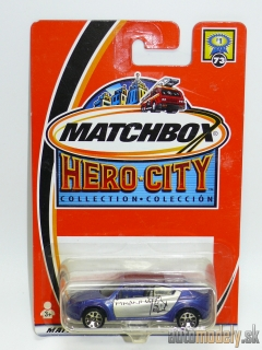 Matchbox Hero City #73 95265 - Pontiac Piranha