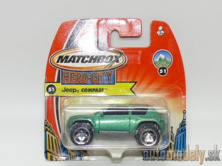 Matchbox Hero City #51 B5473 - Jeep Compass