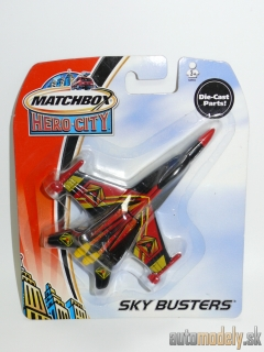 Matchbox - Sky Busters Attack Jet