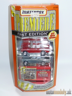 Matchbox Premiere First Edition - 1957 Chevy Convertible