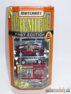 Matchbox Premiere First Edition - 1997 Jaguar XK-8