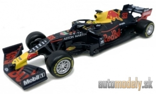 Bburago - Red Bull RB15 Honda, No.33, Aston Martin Red Bull racing, Red Bull, formula 1, with figure, M.Verstappen, 2019 - 1:43
