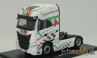 Eligor - Iveco S-Way S570 racing, white/Decorated, No.01, Iveco racing team - 1:43