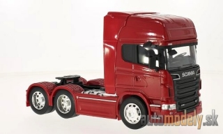 Welly - Scania R730 V8 (6x4), rot - 1:32