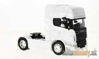 Welly - Scania R730 V8 (4x2), weiss - 1:32