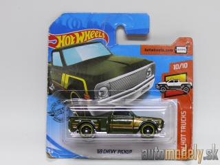 Hot Wheels - HW Hot Trucks '69 Chevy Pickup 10/10