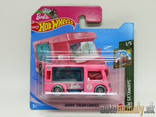 Hot Wheels - HW Getaways Barbie Dream Camper 1/5