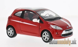 Motormax - Ford Ka, rot/weiss - 1:24