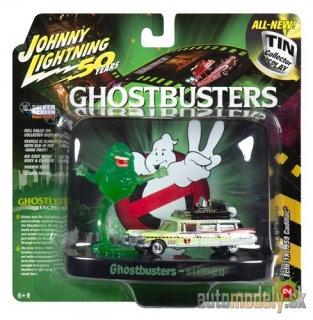 "Johnny Lightning - 1959 Cadillac Ecto 1A Slimed ""Ghostbusters 2"" - 1:64"