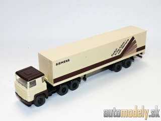 "Wiking 520/1 - Scania LB 111 Siemens Container engl. Ausf. ""Siemens"" - HO 1:87"