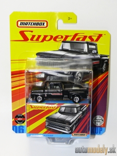 Matchbox 06 GKP49 - 1963 Chevy C10 Pickup - 1:64