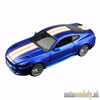 Maisto - Ford Mustang GT, light red/black, 2015 - 1:24