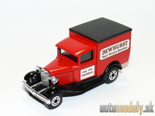 "Matchbox - Model A Ford ""Dewhurst Your Master Butcher"""